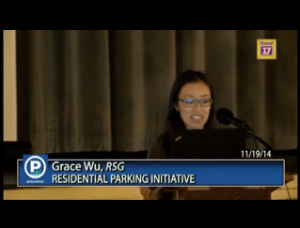 Screen Shot of Parking Presentation